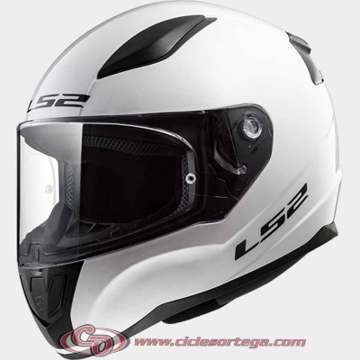 Casco integral infantil LS2 RAPID mini FF353J SOLID White talla L