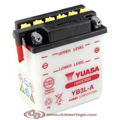 Bateria YUASA YB3L-A