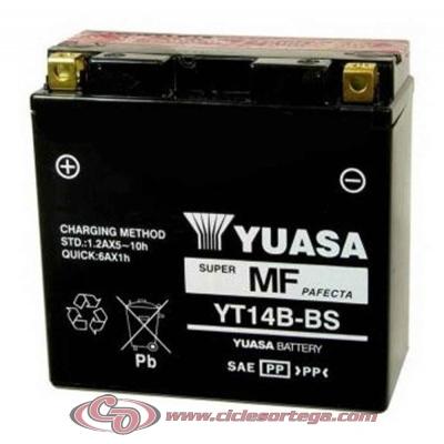 Bateria YUASA YT14B-BS ENVIO 24 HORAS