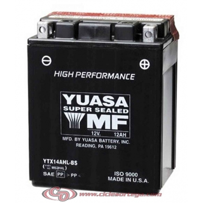 Bateria YUASA YTX14AHL-BS