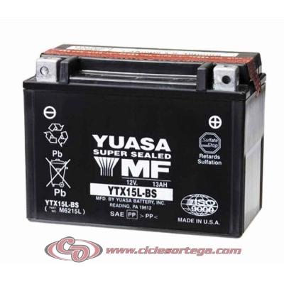 Bateria YUASA YTX15L-BS