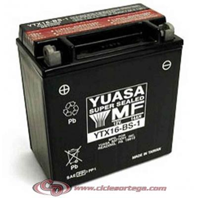 Bateria YUASA YTX16-BS-1