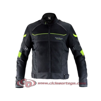 Chaqueta ON BOARD 3D AIR negro fluo talla
