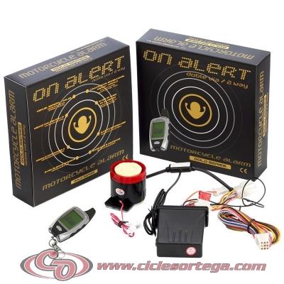 Alarma con mando a distancia de Doble Via para moto Universal AZ2VIBBD1R de On Board
