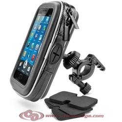 Porta GPS Smartphone brida manillar interior 140 x 88 mms Lektronics