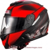 Casco NZI integral SYMBIO 2 DUO GRAPHICS FIBER VOLT INDY BLACK RED talla L