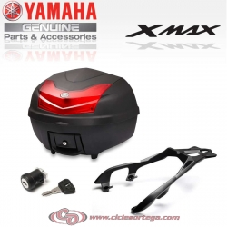 Kit baul parrilla cerradura 39l Original XMAX300URB39 YAMAHA X-MAX 300 2017-