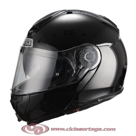Casco NZI modular COMBI DUO BLACK brillo talla S