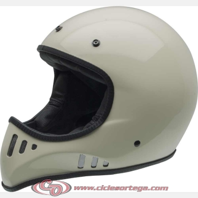 Casco Cross NZI MAD CARBON Bone talla S