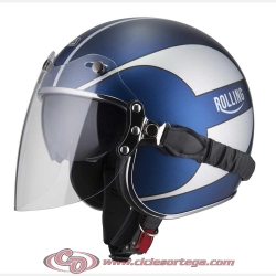 Casco Jet NZI ROLLING3 DUO GRAPHICS QUOTED Talla XL
