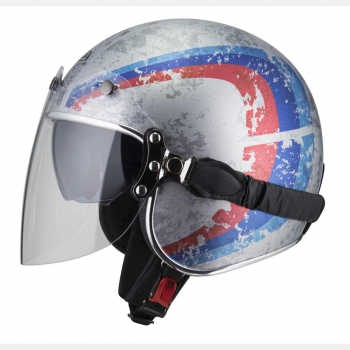 Casco Jet NZI ROLLING3 DUO GRAPHICS SANDED Talla XS