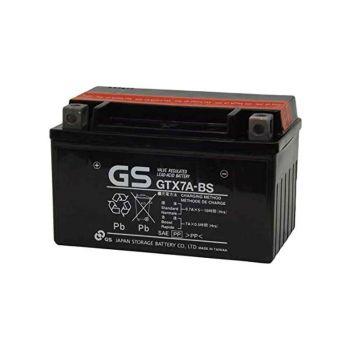 Bateria GS GTX7A-BS Original Yamaha equivalente a YTX7A-BS