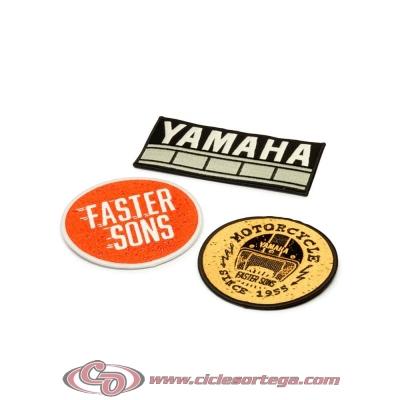 Parches de Faster Sons - juego de 3 N20-PA010-B7-00 original YAMAHA