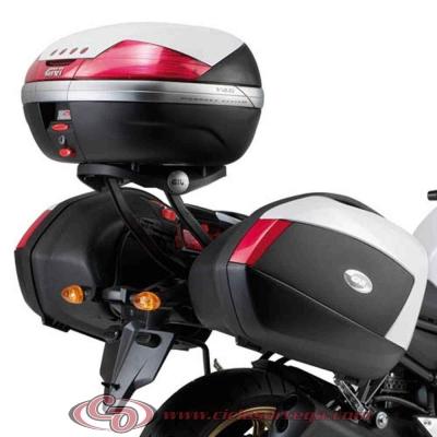 Kit Anclajes para BAUL sistema monolock YAMAHA FAZER FZ8 N 2010-