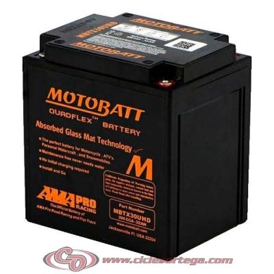 Bateria de Gel MBTX30UHD equivalente a Y60-N30L-B de Motobatt