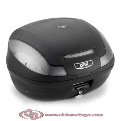 Baul Givi E470 Simply III TECH 47 litros E470NT Monolock con base universal