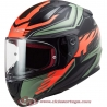 Casco integral LS2 FF353 RAPID GALE Mat Black Red Green