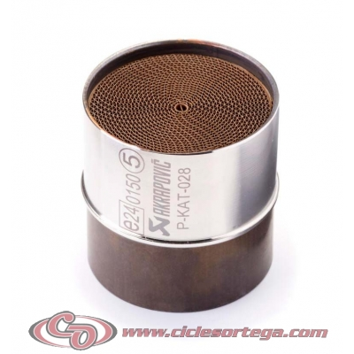 Catalizador 90798-30304-01 para Akrapovic YAMAHA MT-125 2020