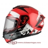 Casco Integral para Moto NZI TRENDY CANADIAN RED WHITE