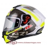 Casco Integral para Moto NZI TRENDY OVERTAKING WHITE LEMON