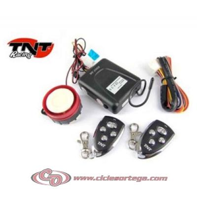 Alarma con mando a distancia para moto Universal 187146 de TNT