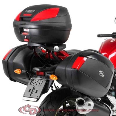 Kit Anclajes para BAUL sistema monokey YAMAHA FAZER FZ8 N 2010-