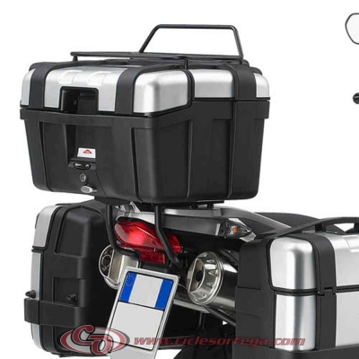 Kit Anclajes para BAUL sistema monokey BMW F 650 GS 04-07