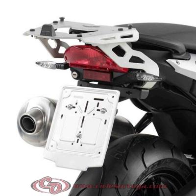 Kit Anclajes para BAUL sistema monokey BMW F 800 R 09-11