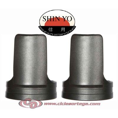 Guardapolvos protectores de horquilla Universales 701-001 Shin Yo negro