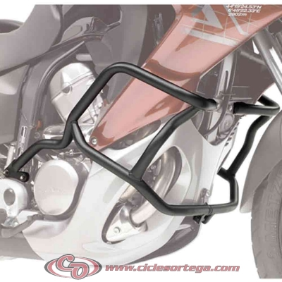Defensas salvapiernas TN455 de Givi para HONDA XL700V TRANSALP 2008-
