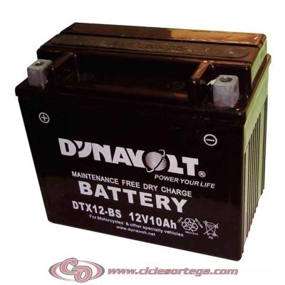 Bateria DYNAVOLT DTX12-BS equivalente a YTX12-BS