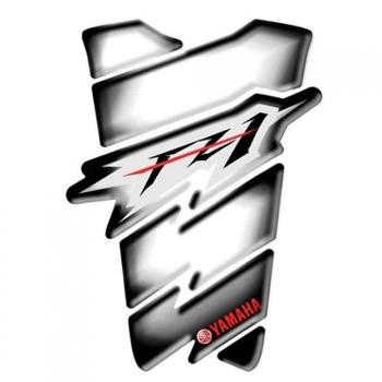 Protector adhesivo deposito 2D1-W0740-00-TP Original Yamaha logo FZ1