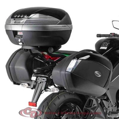 Kit Anclajes para BAUL sistema monolock KAWASAKI Z1000 SX 2011-