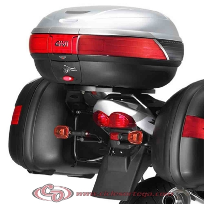 Kit Anclajes para BAUL sistema monokey SUZUKI GSF 600N BANDIT 2000-