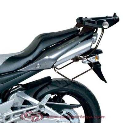 Kit Anclajes para BAUL sistema monokey SUZUKI GSR600 06-07