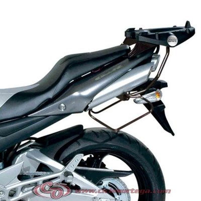 Kit Anclajes para BAUL sistema monolock SUZUKI GSR600 06-07