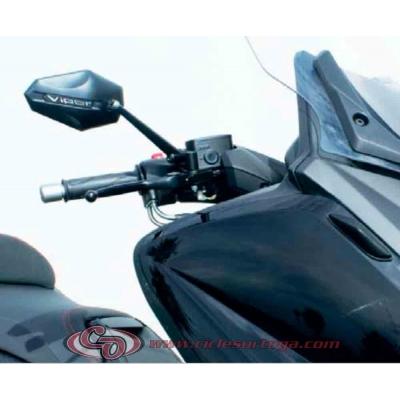 Par espejos Viper 3 de FAR Homologados YAMAHA T-MAX 08-11