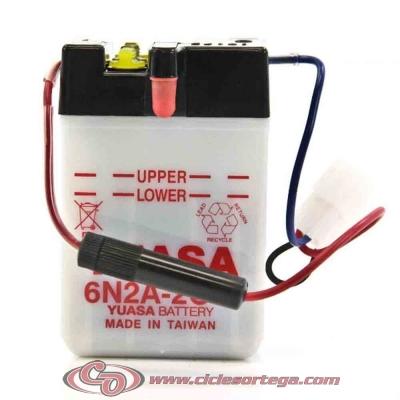 Bateria YUASA 6N2A-2C-3