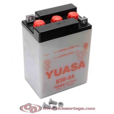 Bateria YUASA B38-6A