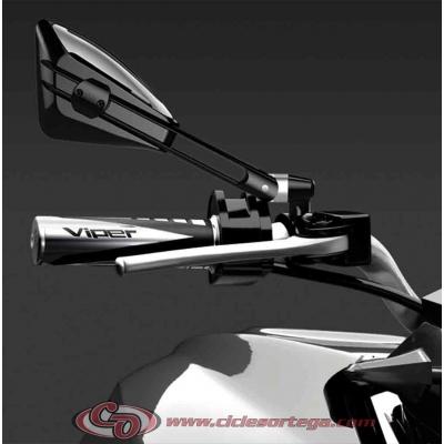 Par espejos retrovisores M-10x150 Viper 2 de FAR Homologados BMW