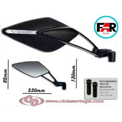 Par espejos retrovisores M-10x150 Viper 8 Style de FAR Homologados BMW