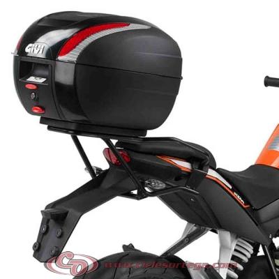Kit Anclajes para BAUL sistema monolock KTM 125 DUKE 2011-