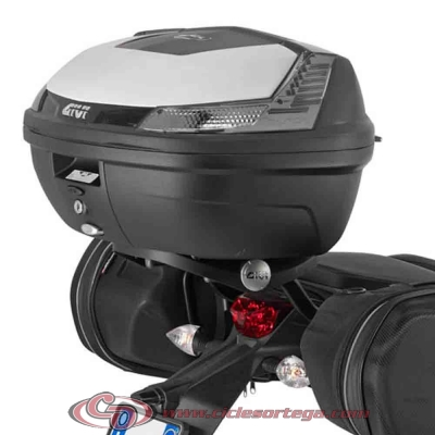 Kit Anclajes para BAUL sistema monolock KTM 690 DUKE 2012-