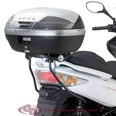 Kit Anclajes para BAUL sistema monokey KYMCO XCITING 500 2010-