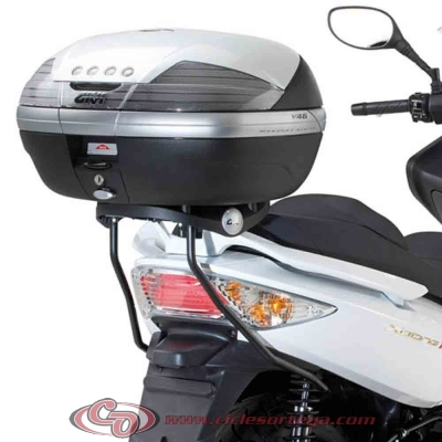Kit Anclajes para BAUL sistema monolock KYMCO XCITING 500 2010-