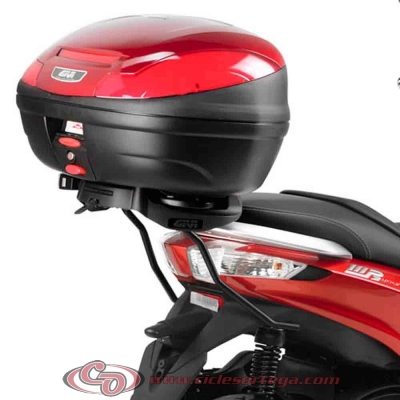 Kit Anclajes para BAUL sistema monokey PIAGGIO MP3 500 TOURING 2012-