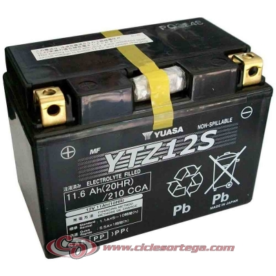 Bateria YUASA YTZ12S ENVIO 24 HORAS