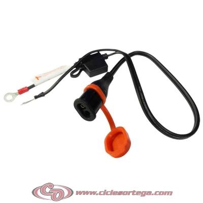 Conector con conectores borne baterías cargador OPTIMATE SAE-71