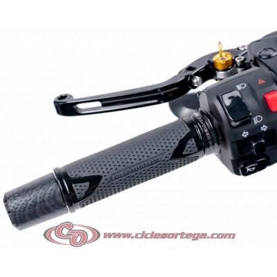 Puños aluminio negro HI-TECH RADIKAL 6325N de Puig