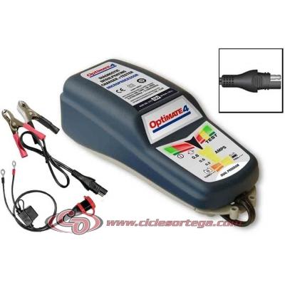 Cargador baterias OPTIMATE 4 DUAL PROGRAM CAN BUS ENVIO 24 HORAS